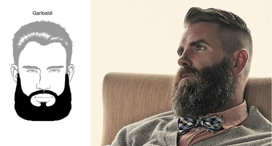 Model barba Garibaldi